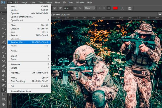 Оптимизация размера изображений для web